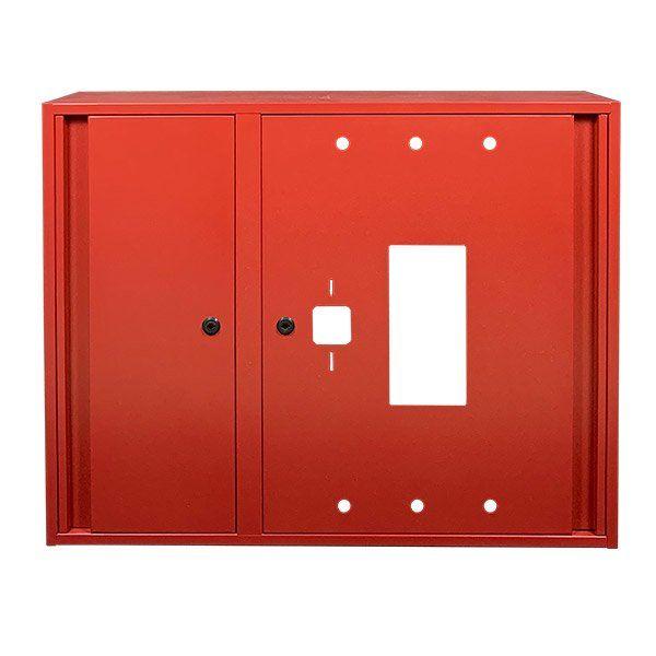 Купить Шкаф пожарный ШП-90/70-Н Красный (навесной, без задней стенки, 900х700х230мм)