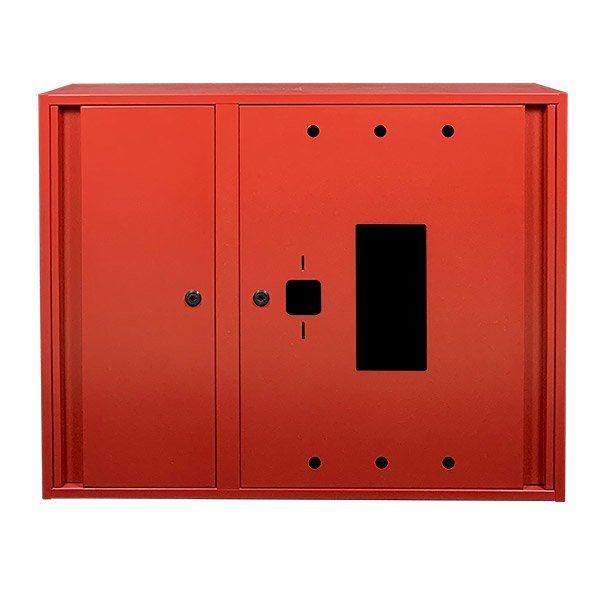 Купить Шкаф пожарный ШП-90/70-НС Красный (навесной, с задней стенкой, 900х700х230мм)