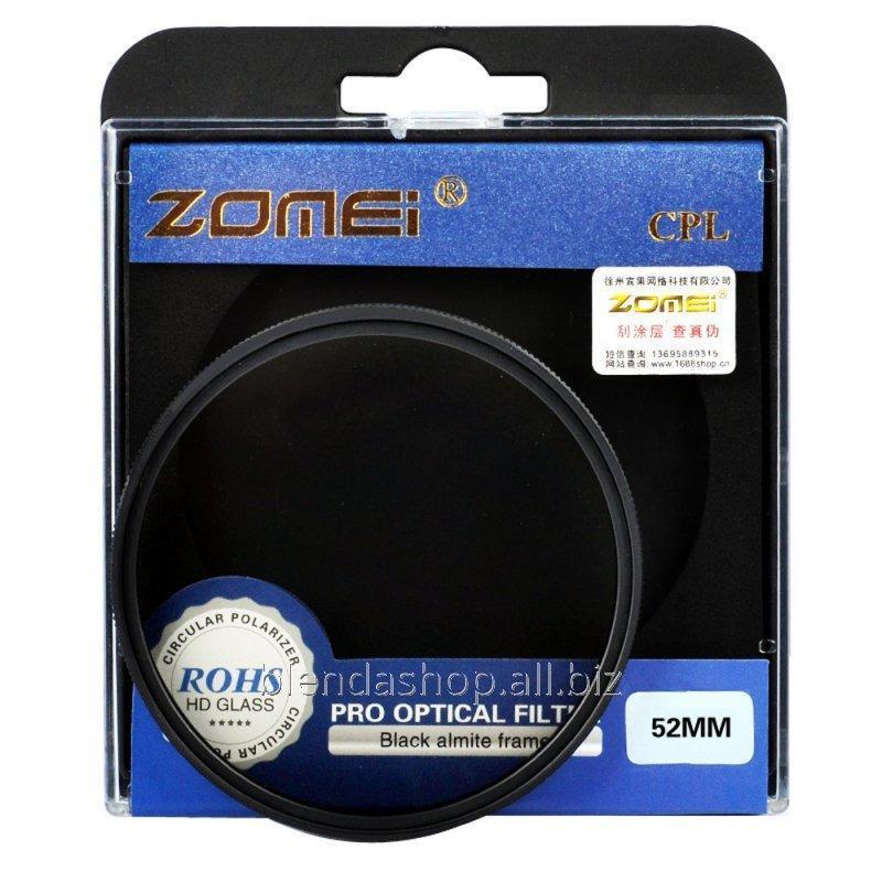 Купить Поляризационный светофильтр ZOMEI 37 мм CPL