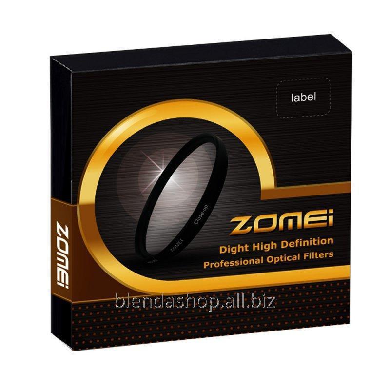 Купить Светофильтр ZOMEI - макролинза CLOSE UP +8 - 40.5 mm