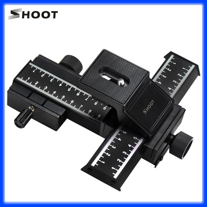 Купить Двухуровневая макро-рельса LP-04 от SHOOT (для перемещения в 4-х направлениях) (код XT-360)