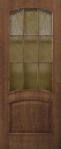 Капри ПО со стеклом кора бронза