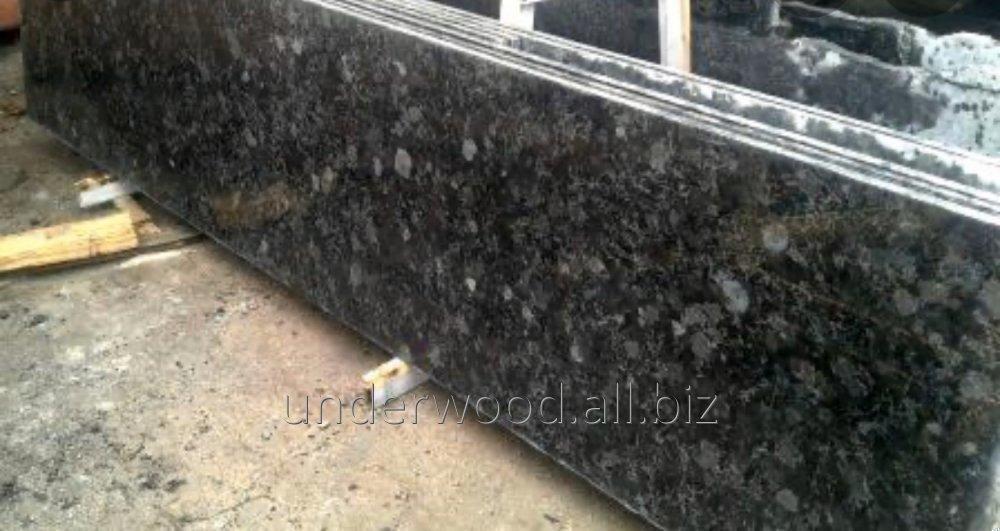 Полусляб гранитный Каменобродский лабрадорит 20 мм