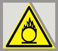 Предупреждающий знак «Пожароопасно. Окислитель».