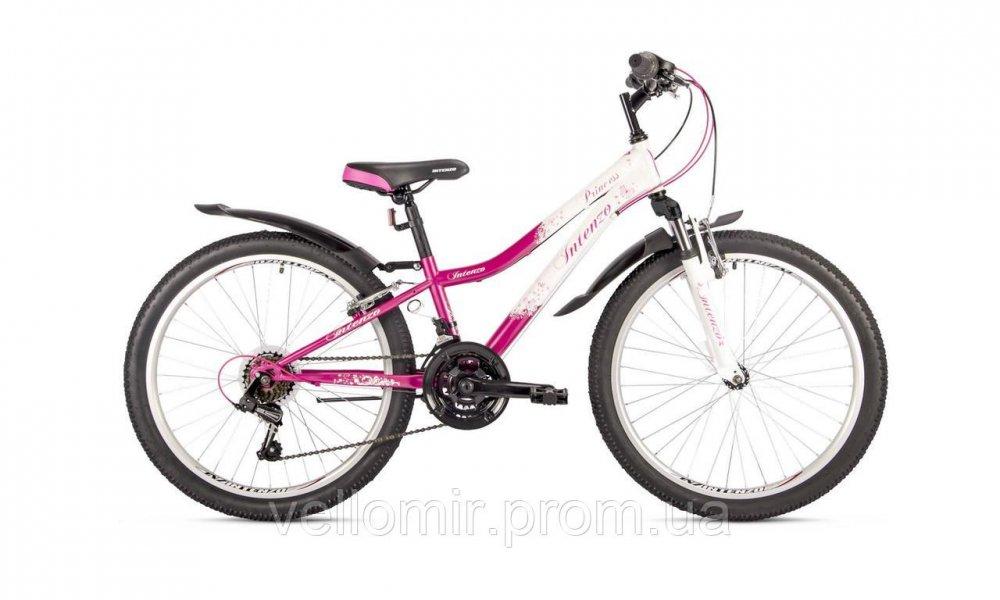 """Подростковый велосипед Intenzo Princess на колесах 24"""""""