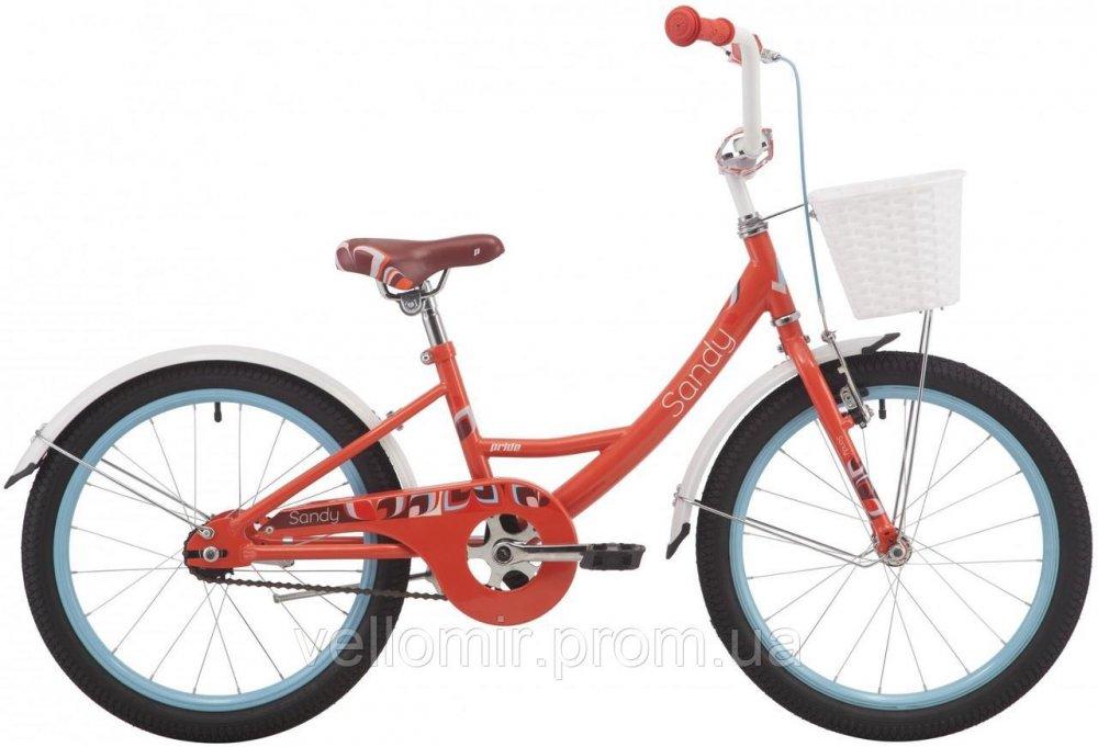 "Детский велосипед Pride Sandy на колесах 20"""