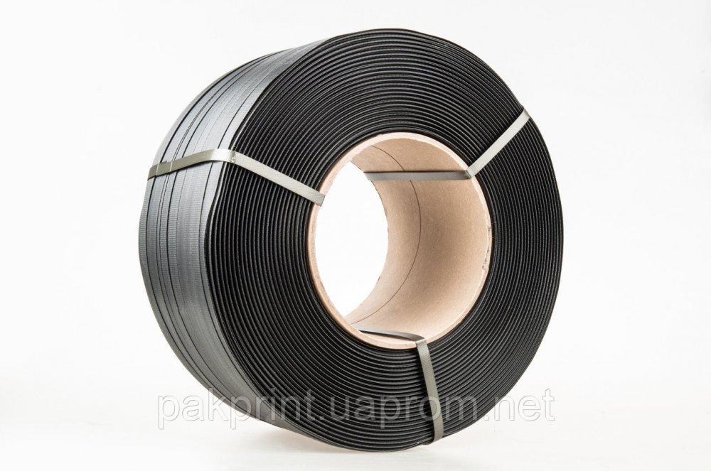 Купить Лента полипропиленновая 16 х 1.0 мм – 1.1 км (черная) Ø 406 мм, для полуавтоматов