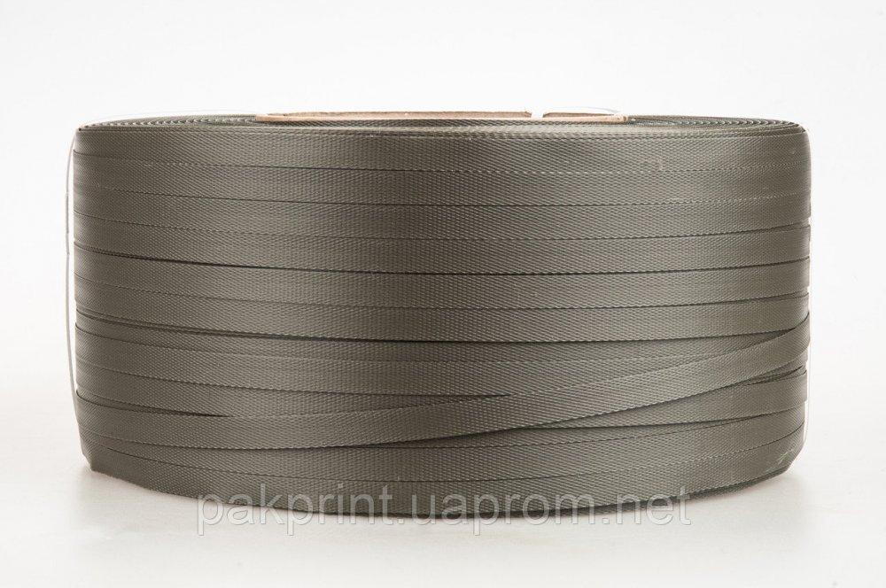 Купить Лента полипропиленновая 19 мм х 1 мм- 1 км (зеленая) Ø 200мм для полуавтоматов