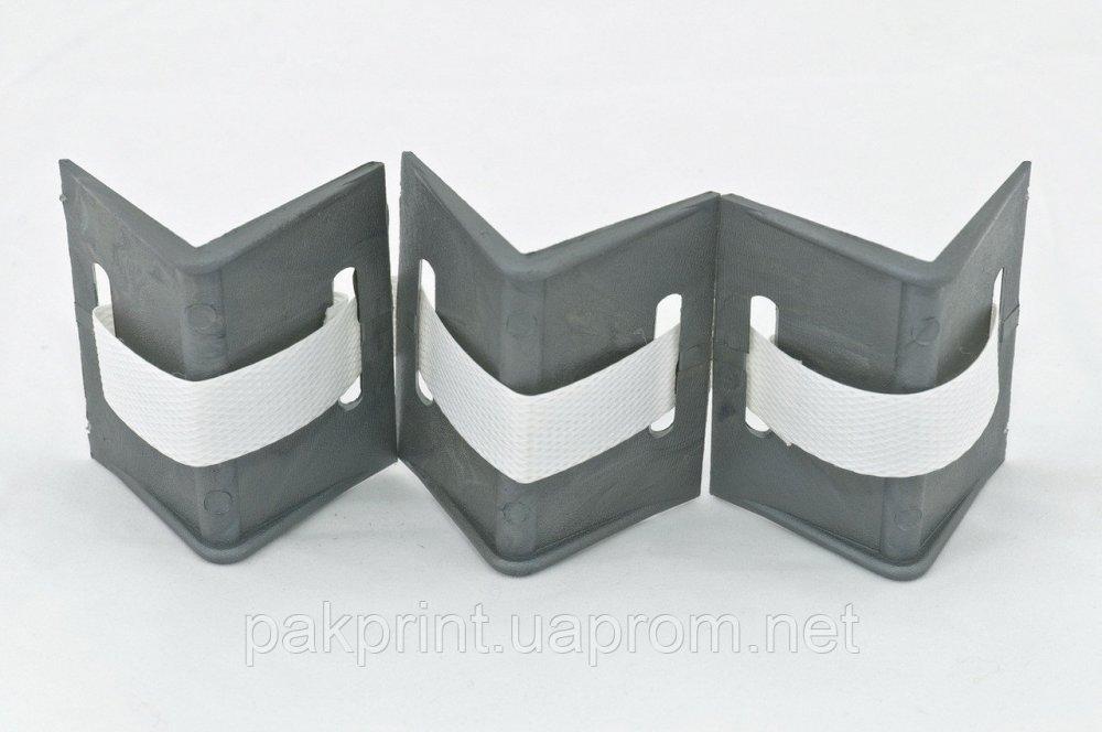Купить Защитный уголок полипропиленовый квадратный 65 мм