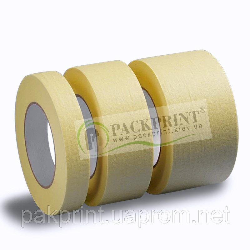 Купить Термостойкая Малярная клейкая лента 80С (Mascing) 30 мм х 27м