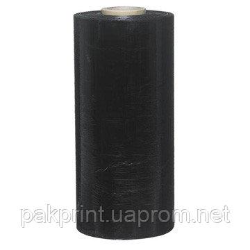 Купить Стретч черный 20мк х 100мм х 150м