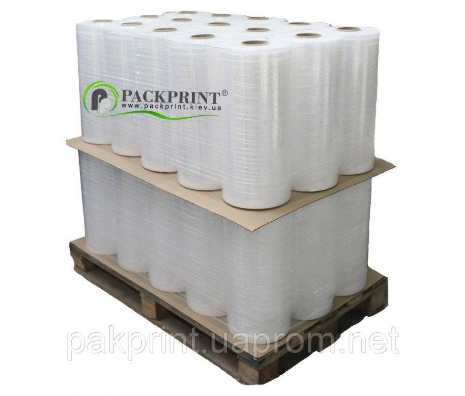 Купить Стрейч пленка упаковочная прозрачная машинная 17мкм