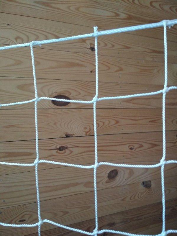 Купить Сетка спорт заградительная шнур 2,5 мм ячейка 100 мм
