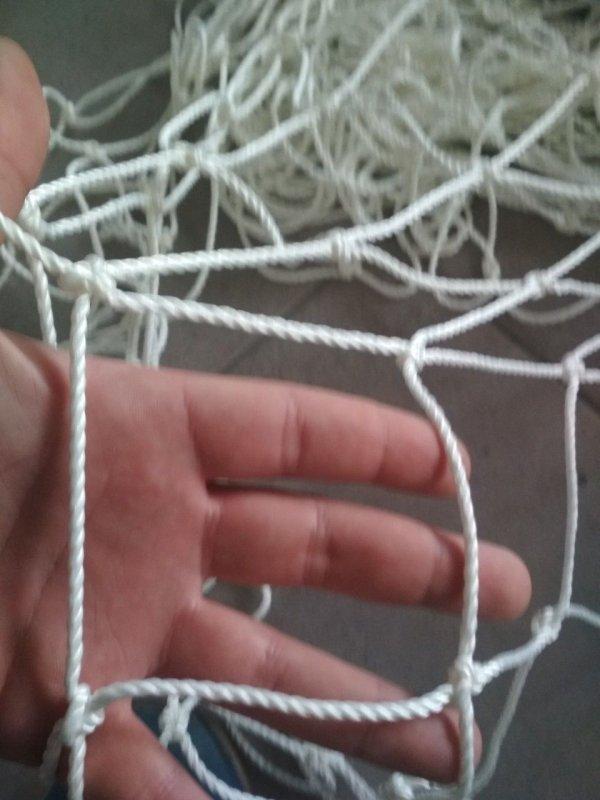 Купить Сетка спорт заградительная шнур 3,5 мм ячейка 120 мм