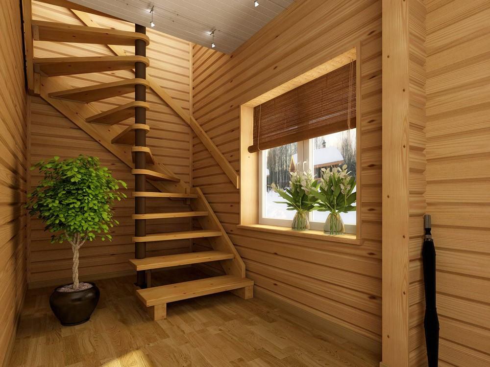Купить Лестницы деревянные, лестницы из дерева