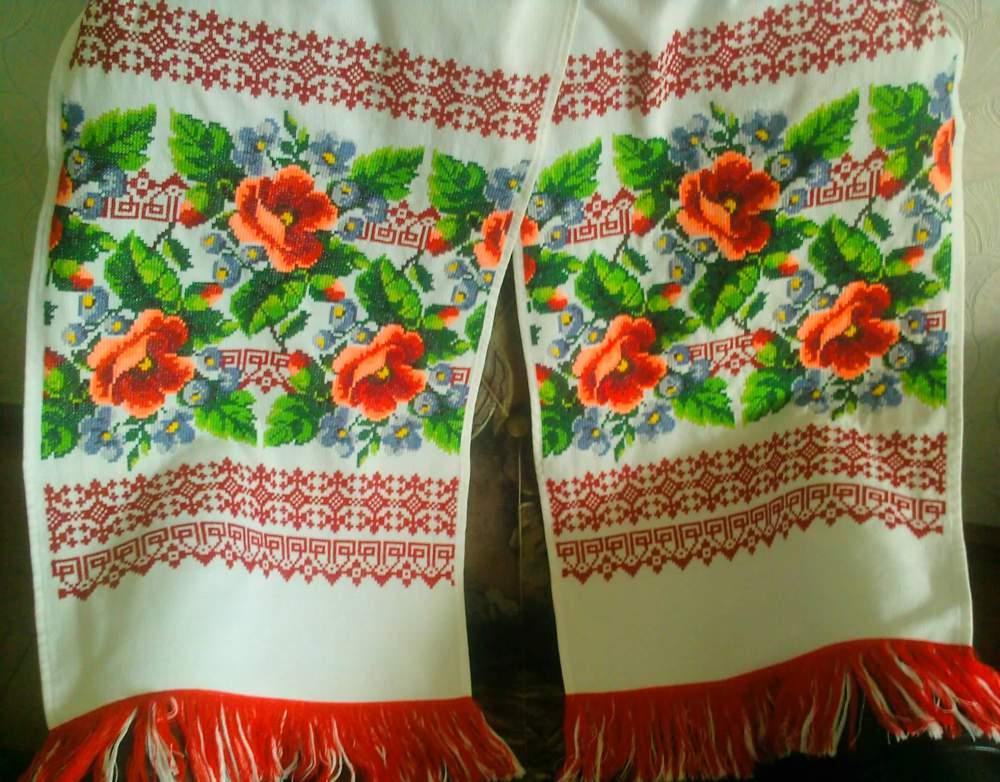Рушник Вінчальний вишивка ручної роботи купити в Бровари f6b8ba5b0315d
