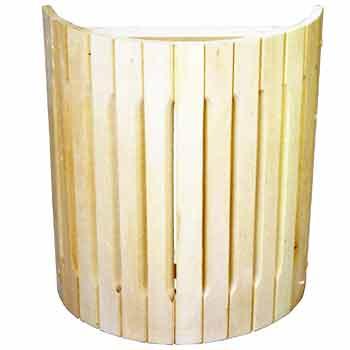 Купить Абажур для светильника №4 наборной прямой