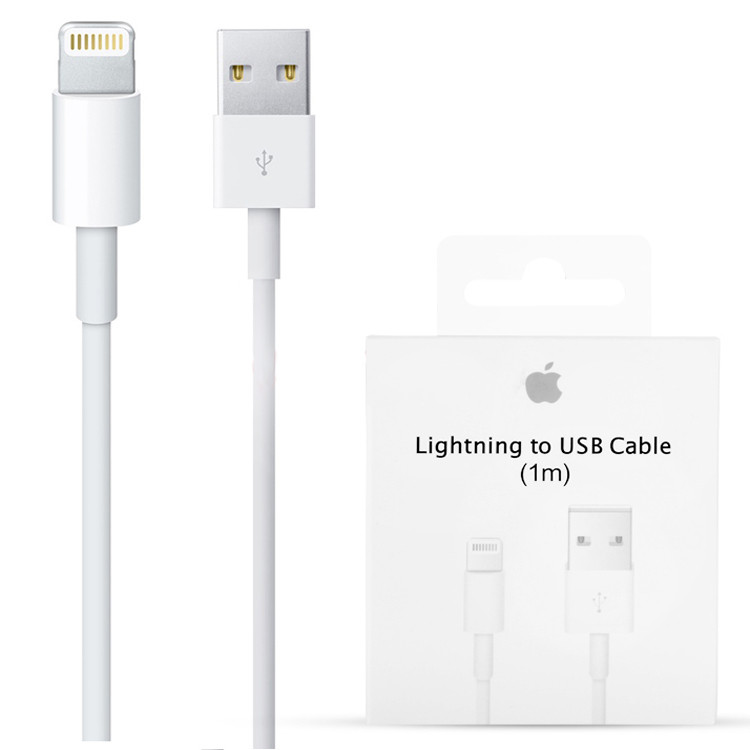 Дата кабель Apple Lightning to USB 2.0 1m для iPad/iPhone Orig (MD818FE/A)