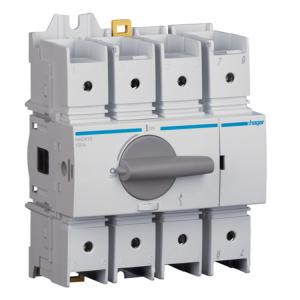 Купить Выключатель нагрузки модульный до 70мм2, 4п 125А, Hager HAD412