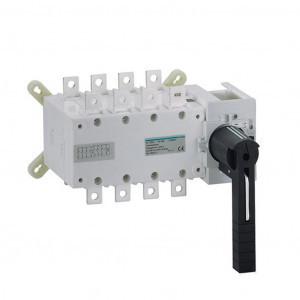 Купить Переключатель трёхпозиционный I-0-II, 160А, 4-п, Hager HI452