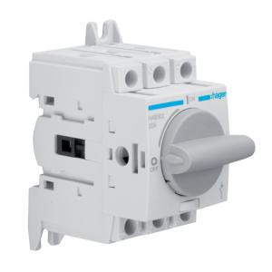 Купить Выключатель нагрузки модульный до 16мм2, 3п 20А, Hager HAB302