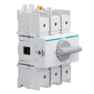 Купить Выключатель нагрузки модульный до 70мм2, 3п 125А, Hager HAD312