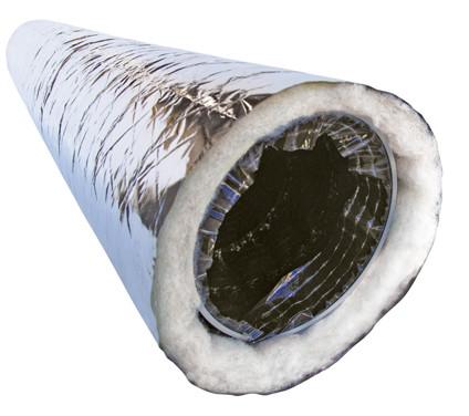 Купить Гибкий воздуховод ВЕНТС изолированный 125 мм