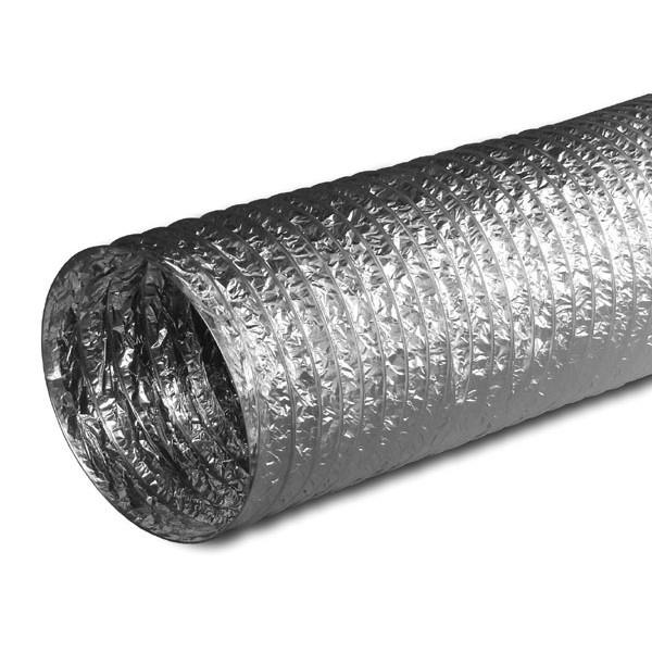 Купить Гибкий воздуховод неизолированный 150 мм