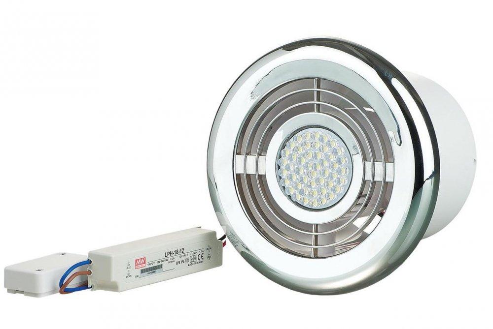 Купить Диффузор с подсветкой ФЛ-Т 100 LED хром и трансформатором