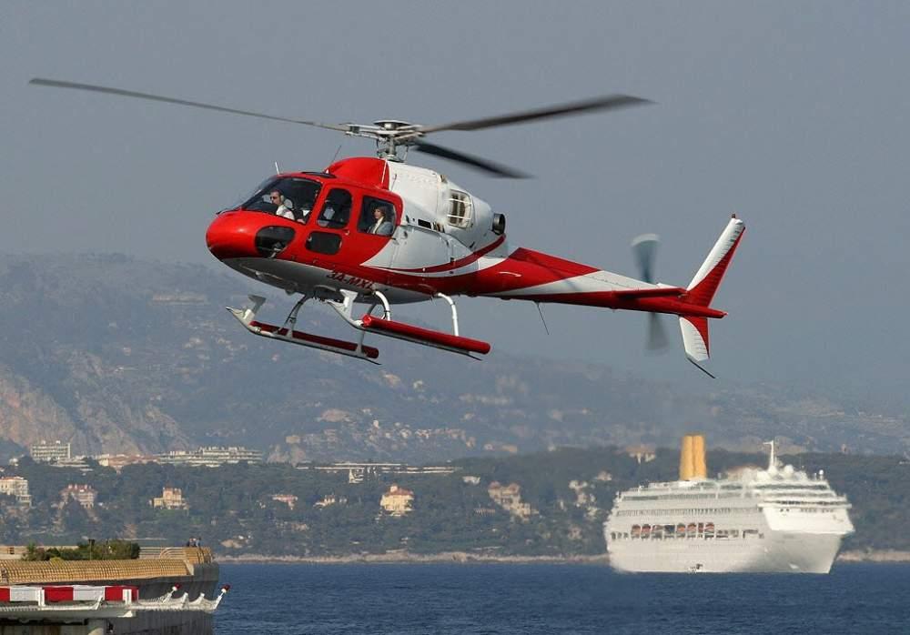 Аренда вертолета Eurocopter AS355 Ecureuil Заказать чартер