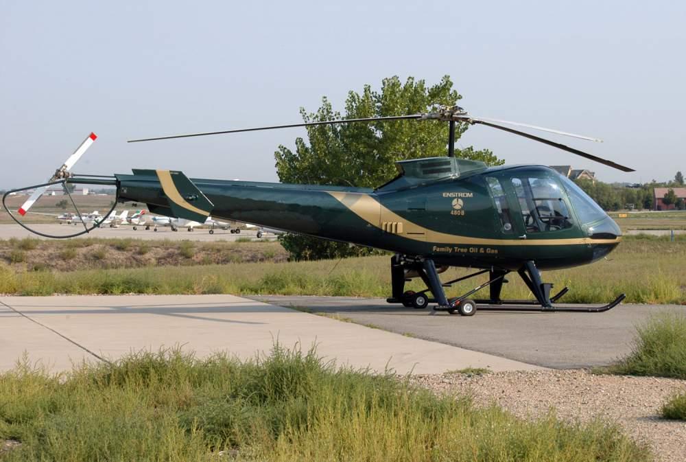 Аренда вертолета Enstrom 408B. Заказать чартер