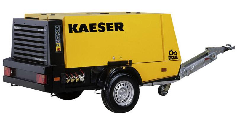 Компрессор передвижной дизельный Kaeser 10 бар