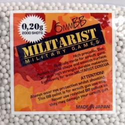 Кульки для страйкбола Militarist 0.23