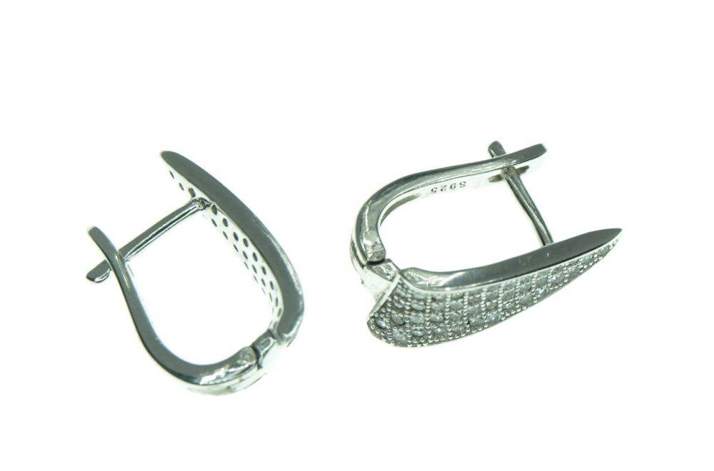Купить Серьги серебряные с343