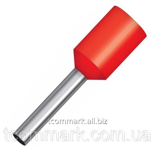 Купить Кабельный наконечник втулочный с изоляцией 1,5кв.мм,(100шт.) (Е1510)