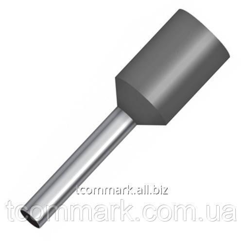 Купить Кабельный наконечник втулочный с изоляцией 4кв.мм,(100шт.) (Е4012)