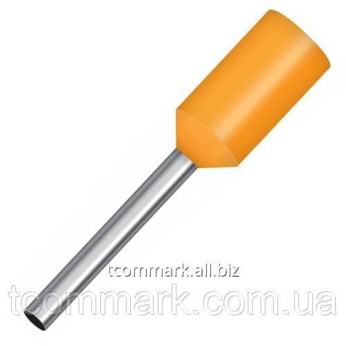 Купить Кабельный наконечник втулочный с изоляцией 0,5кв.мм,(100шт.) (Е0508)