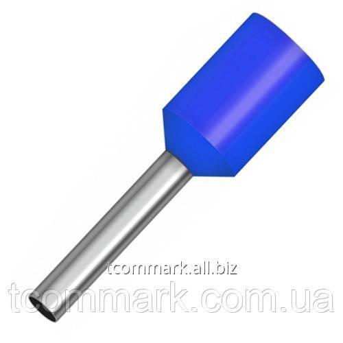 Купить Кабельный наконечник втулочный с изоляцией 2,5кв.мм,(100шт.) (Е2512)