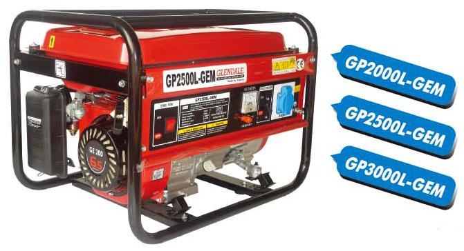 Buy Mobile GP2500L-GEM petrolgenerator Electrical units of low power