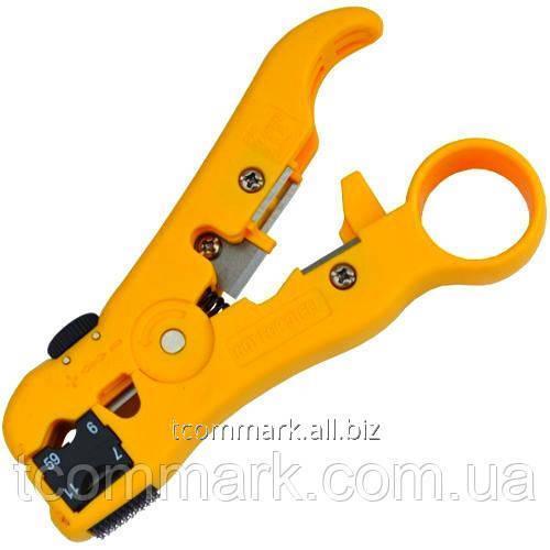 Купить Инструмент HT-352 для зачистки коаксиального кабеля RG-59, 6, 7, 11 (Тайвань)
