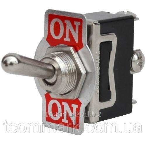 Купить Тумблер KN3(С)-102A (ON-ON), 3-х контактный, 10А, 250В