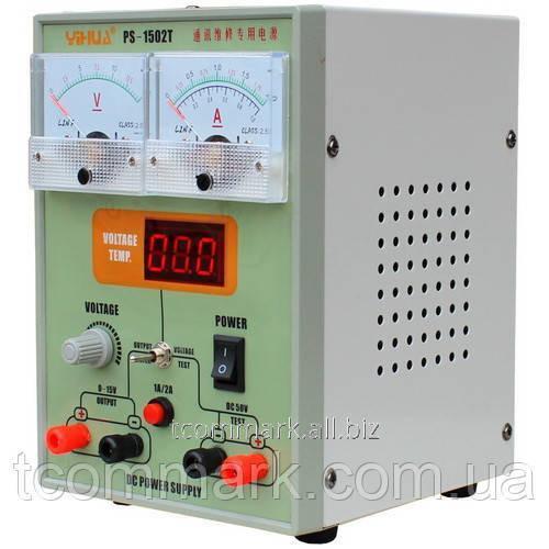 Купить Лабораторный блок питания YIHUA PS-1502T, 15B, 2A