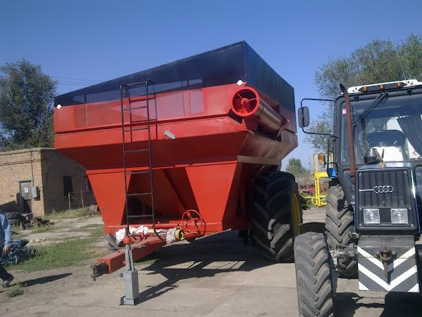 Купить Прицеп-зерноперегружатель бункерного типа EZ860