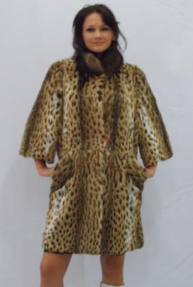 Пальто з хутром Ацелот. Хутряний одяг. купити в Рівне 8fb65cb883fb1