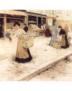 Открытки поздравительные Парижская цветочница, купить открытки, купить, цена,фото.