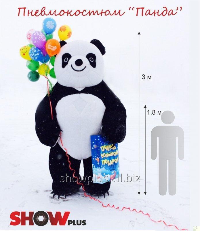 Панда надувной костюм (пневмокостюм 8af9c27c25eb7