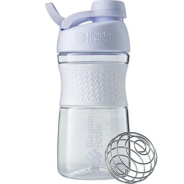 Купить Бутылка-шейкер спортивная BlenderBottle SportMixer Twist 590ml White SKL24-144930