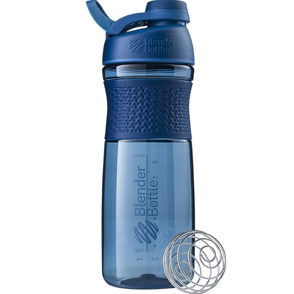 Купить Бутылка-шейкер спортивная BlenderBottle SportMixer Twist 820ml Navy SKL24-144925