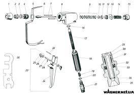 Buy Remkomplekt painting gun Wagner AG-08, G-10-1N, Airless, Dino Power, V-500, AG-250
