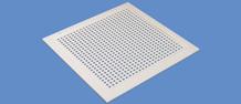 Купить Решетка вентиляционная перфорированная EMP-U, диффузор, анемостат, климатическое вентиляционное оборудование